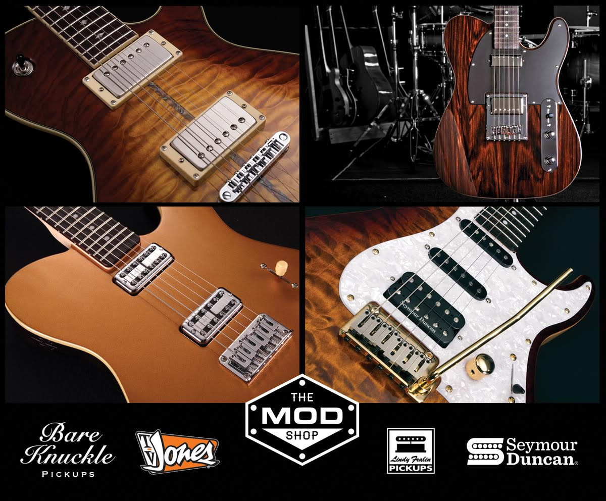 go to Michael Kelly Teams With Bare Knuckle Pickups, TV Jones, Fralin Pickups and Others for U.S.A. Mod Shop post