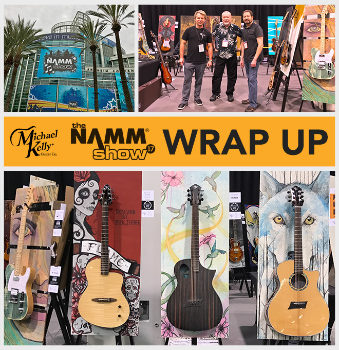 The NAMM show Wrap Up collage